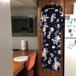 Floral dress/romper